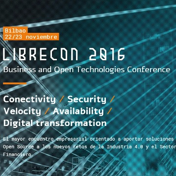 Librecon 2016 reúne en Bilbao a la industria del open source