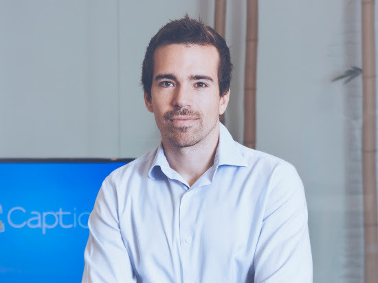 Joel Vicient, CEO de Captio.